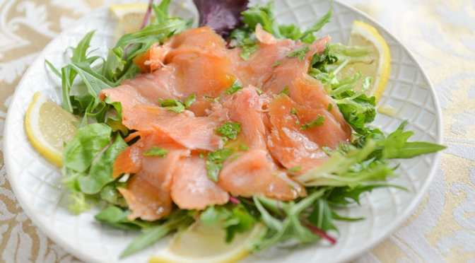 How To Make Carpaccio Smoked Salmon